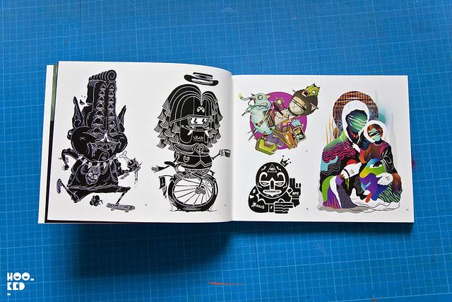 Sticker Bomb XL Book