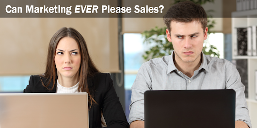 Can Marketing Ever Please Sales? - The Partner Marketing Group