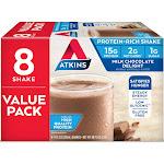 Atkins Nutritional Shake - Milk Chocolate Delight - 8ct