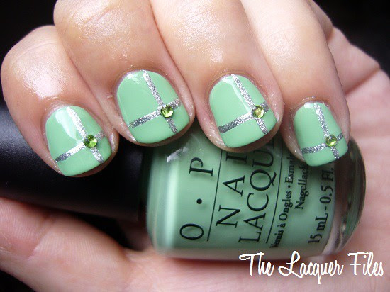 OPI Damone Roberts 1968 Pastel Mint Green Limited Edition Rerelease