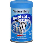 Wardley Tropical Fish Flake Food - 1 oz canister