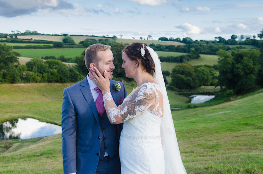 A wet wedding at Shilstone House