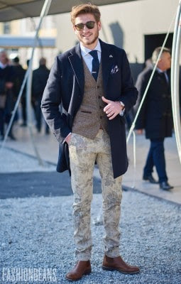Stefanos Grigoriadis, Photographed in Pitti Uomo<br/> Click Photo To See More