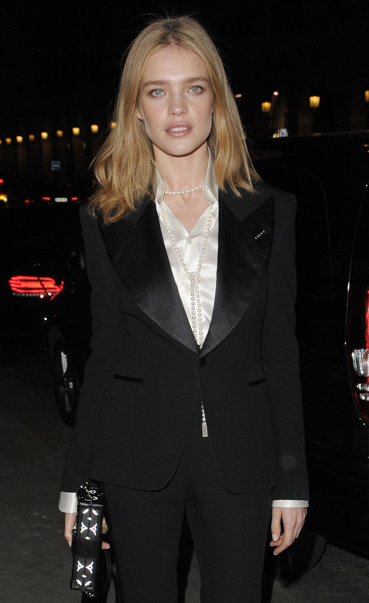 NATALIA VODIANOVA at Berluti Fashion Show in Paris