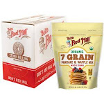 Bob'S Red Mill Organic 7 Grain Pancake And Waffle Mix (24 OZ, 4 Per Case)