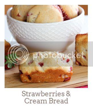 """""""Strawberries & Cream Bread"""""""