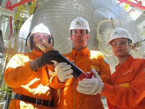 FPSO Cidade de Angra dos Reis navio-plataforma Petrobras (Foto: Bernardo Tabak/G1)