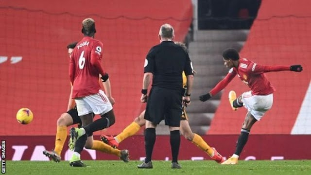 VIDEO: Man United 1 – 0 Wolves [PREMIER LEAGUE] HIGHLIGHTS 2020/21