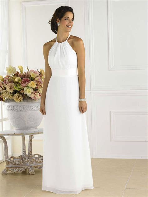Pretty Maids White Bridesmaid Dress 1 1   Dresscab