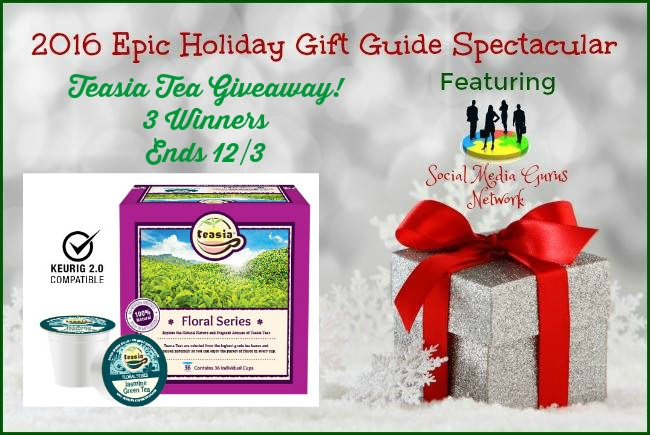 Teasia Teas Giveaway. Ends 12/3