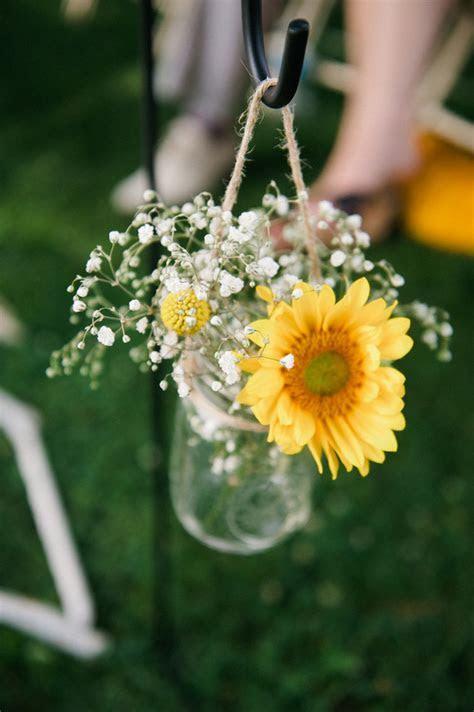 Cheerful Coral, Navy & Mustard DIY Wedding