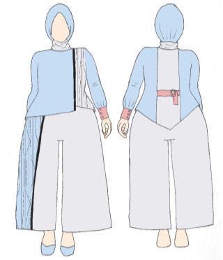 Perancangan Busana Muslim Ready To Wear Untuk Perempuan Plus Size