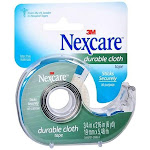 Nexcare Durable Cloth First Aid Tape, 799, Dispenser, 3/4 inch x 6 yd