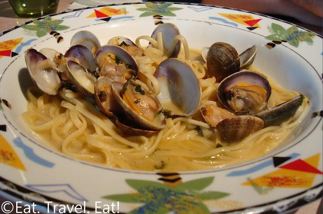 Sesame Grill: Linguini Clams