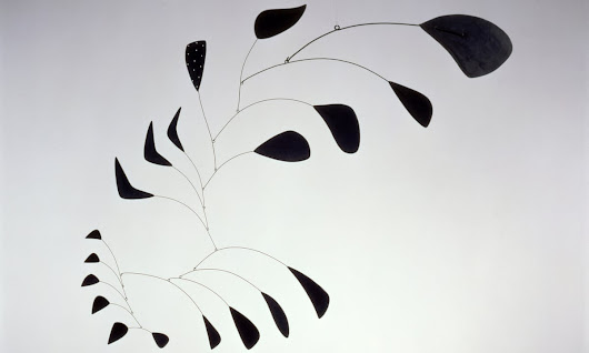 Rotation, rotation, rotation! Alexander Calder and his high-wire circus act