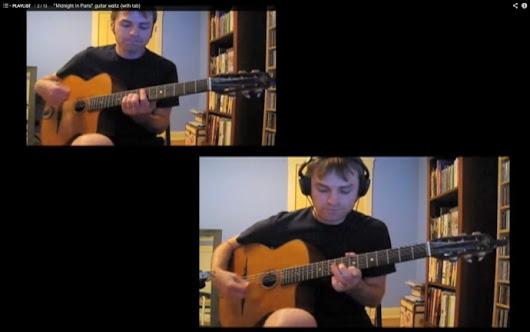 Support Adrian Holovaty creating gypsy jazz and fingerstyle guitar videos