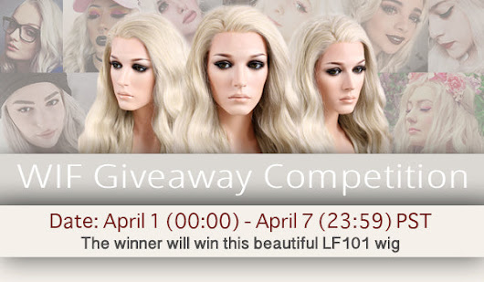 WIF Lace Front Wig LF101 Giveaway