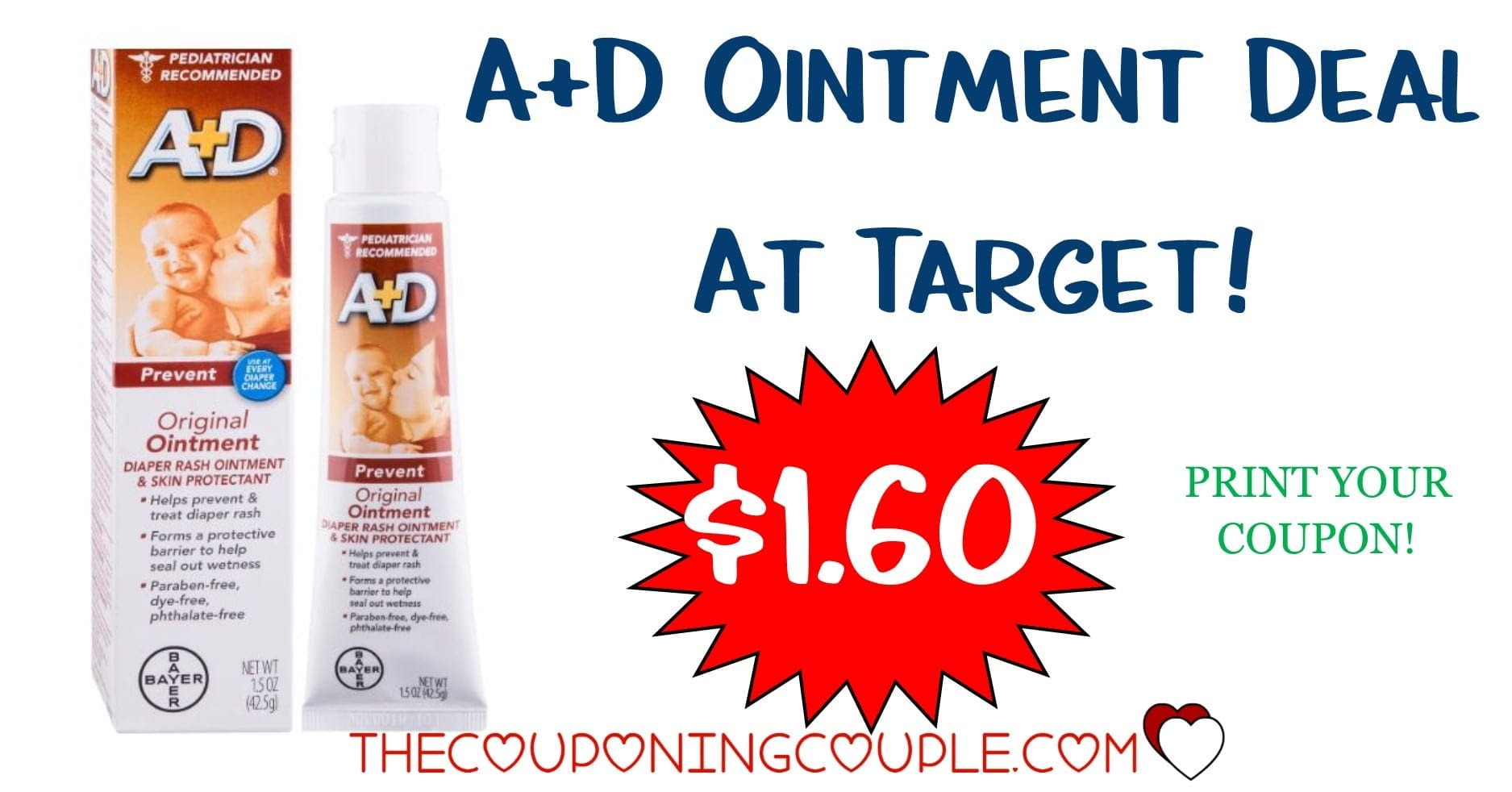 Ad Ointment As Low As 160 With Target Deal Reg 325