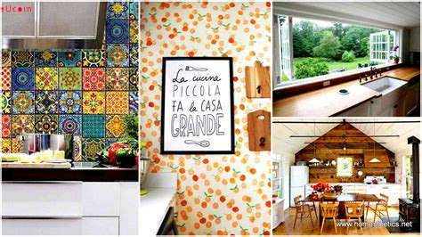 decoration ideas   transform  kitchen walls
