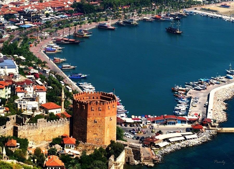 Alanya Kalesi ve Kızılkule-Antalya