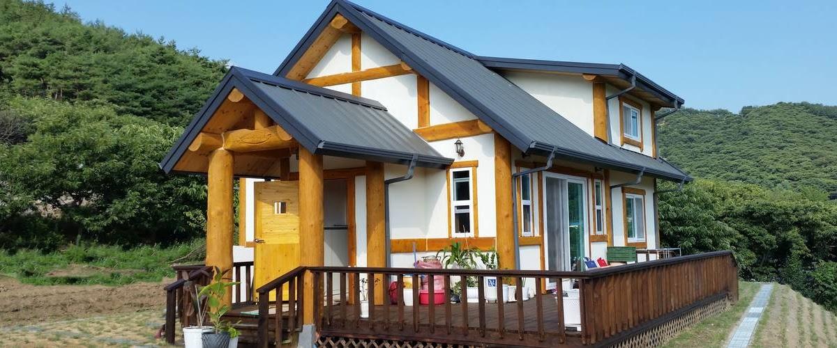 Warna Cat Rumah Kayu Bagian Luar Yang Bagus - Berbagai ...