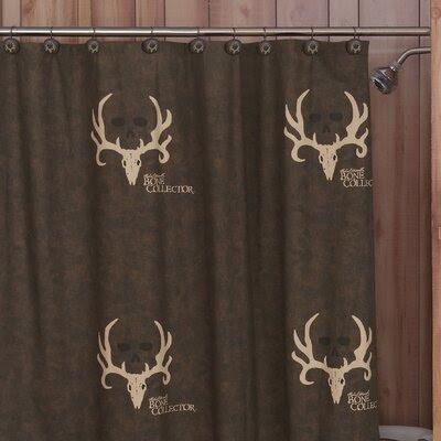 Brown Cotton Shower Curtain | Wayfair