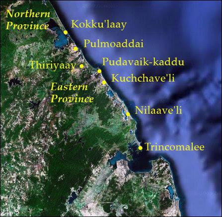 Kokku'laay to Trincomalee