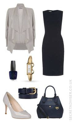 ways  wear  navy dress outfit   accessories