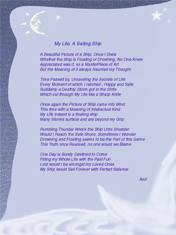 Art Old Versus New With Missing You Poem