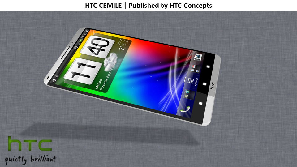 HTC Cemile 1080p Display Phone Runs Android 4.0 With HTC Sense 4.0