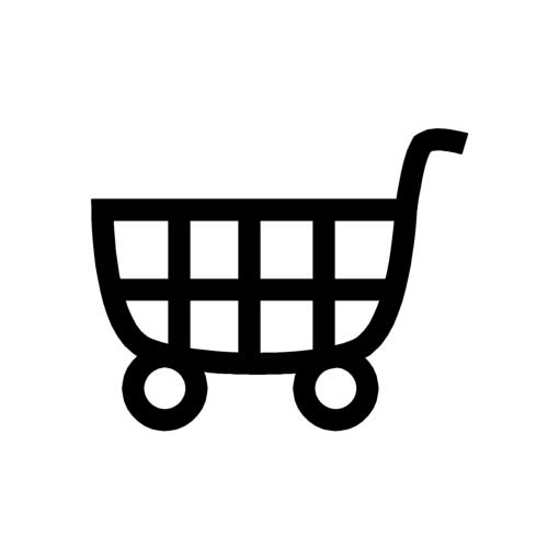 ショッピングカートの無料イラストオーフリー写真素材