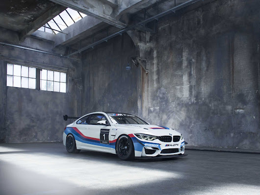 Sales launch for the newly-developed BMW M4 GT4.