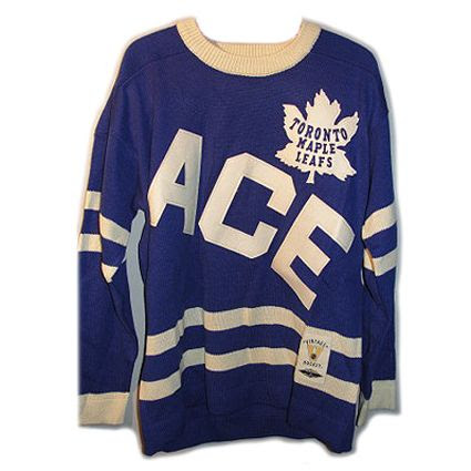 1934 Tornoto Maple Leafs ACE jersey