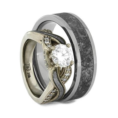 """Wedding Ring Sets Tagged """"prong setting""""   Jewelry by Johan"""