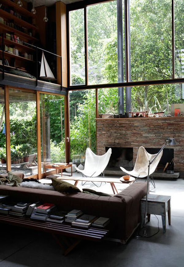 20 Inspirational Industrial Living Room Designs | House ...