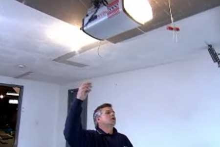 How to Muffle a Noisy Garage-Door Opener | Video | This Old House