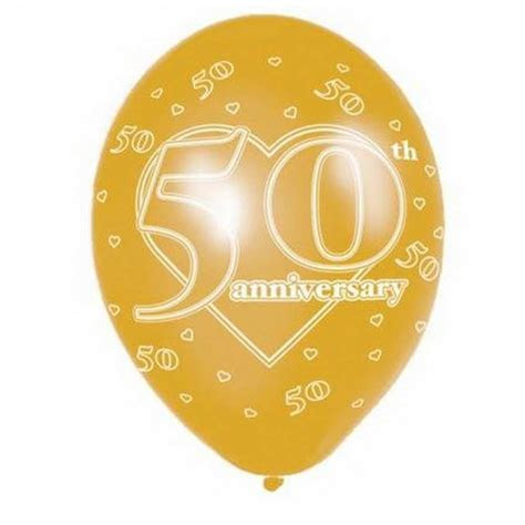 wedding anniversary printed balloons party decorations