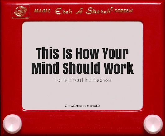 Magic Screen: This Is How Your Mind Should Work (To Help You Find Success) #4052 - GROW GREAT