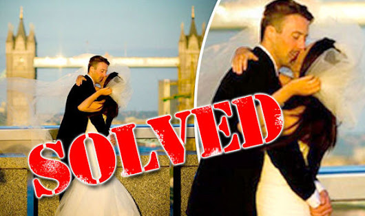 EXCLUSIVE: Mystery of the Tower Bridge married couple photo SOLVED
