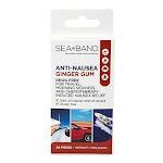 Sea Band Anti Nausea Ginger Chewing Gum - 24 Each