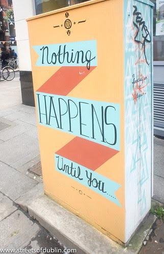 Dublin Street Art (Abbey Street) by infomatique