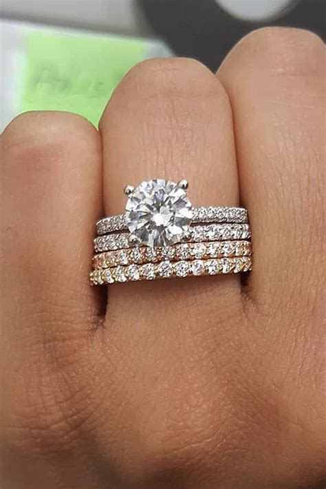 33 Uncommonly Beautiful Diamond Wedding Rings   Oh So