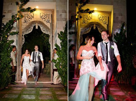 Sarah and Mark's Bali Destination Wedding   Polka Dot Bride