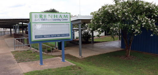 BRENHAM EARLY CHILDHOOD LEARNING CENTER RENOVATIONS UNDERWAY