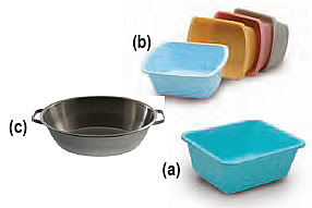 Rectangular Wash Basin Foot Tub Four Directions Medical Supply