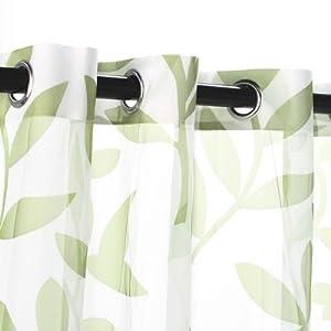 Amazon.com - Outdoor Decor Escape Leaf Grommet Outdoor Curtain