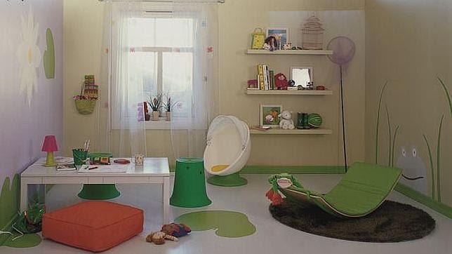 Cómo influyen los colores de la habitación en el desarrollo y bienestar de los niños