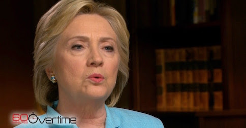 '60 Minutes' cut THIS clip of Hillary being asked about leaked DNC emails, the biggest story in politics
