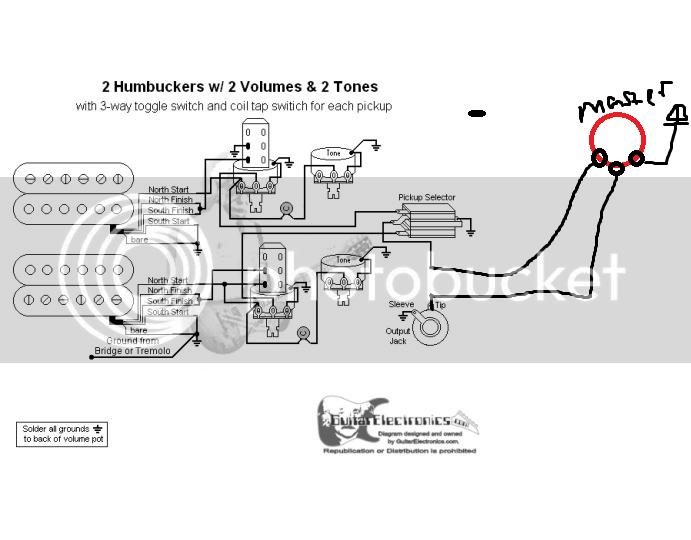 Bc Rich Humbucker Guitar Wiring Diagram