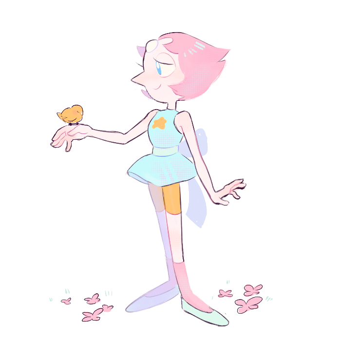 commission of Pearl for @piierogi !!! ♥ ♥ ♥